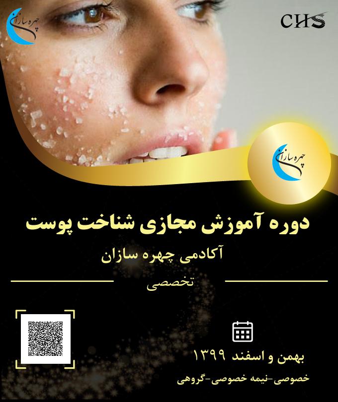 دوره آموزش مجازی شناخت پوست, آموزش آموزش مجازی شناخت پوست ,مدرک آموزشی شناخت پوست, مدرک شناخت پوست