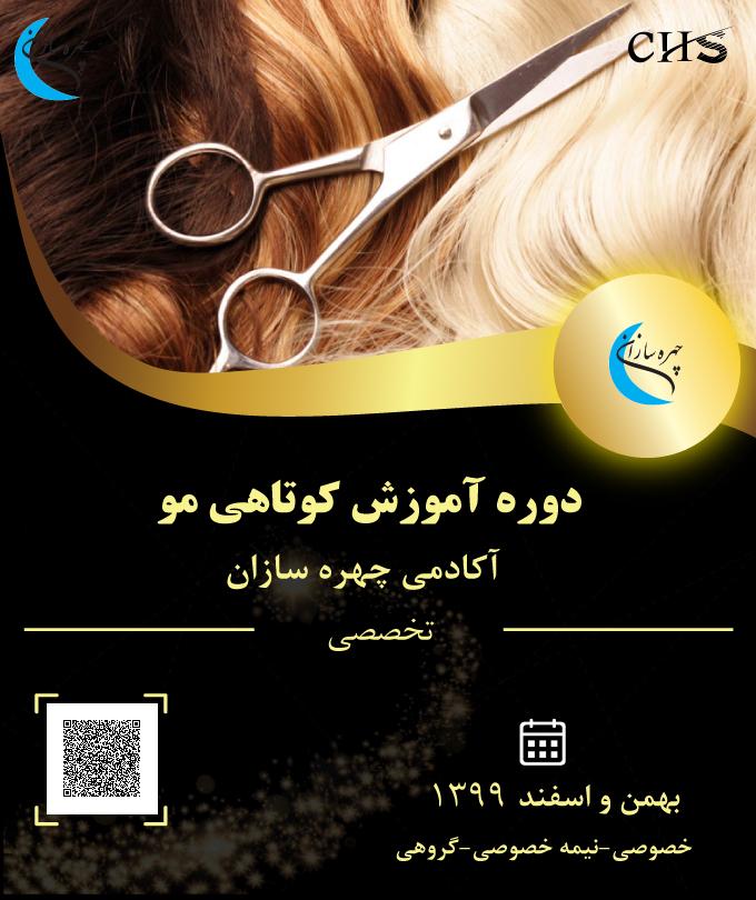 دوره آموزش کوتاهی مو سر, آموزش کوتاهی مو سر, دوره کوتاهی مو سر , مدرک آموزشی کوتاهی مو سر, مدرک دوره کوتاهی مو سر