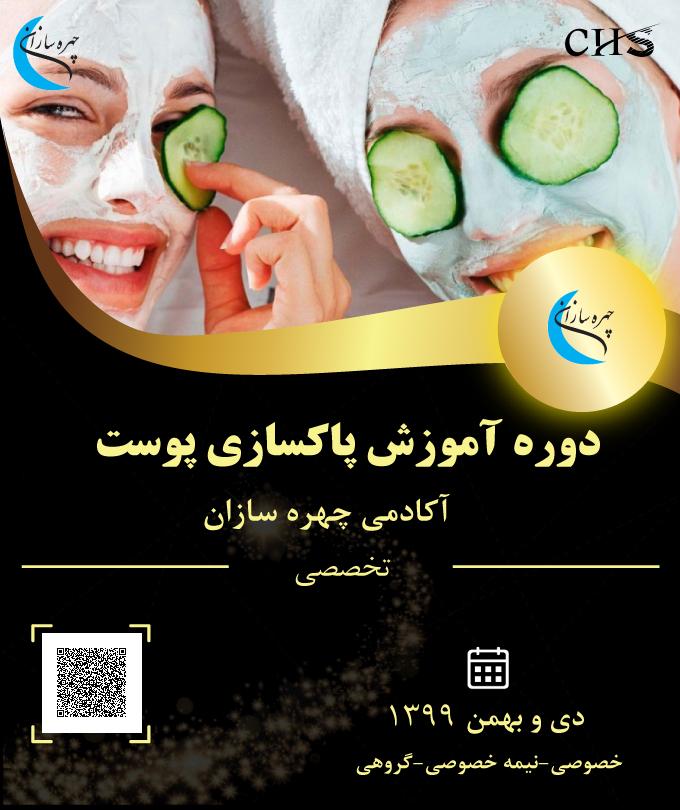 دوره آموزش مجازی پاکسازی پوست, آموزش مجازی پاکسازی پوست مدرک مجازی پاکسازی پوست, مدرک مجازی پاکسازی پوست